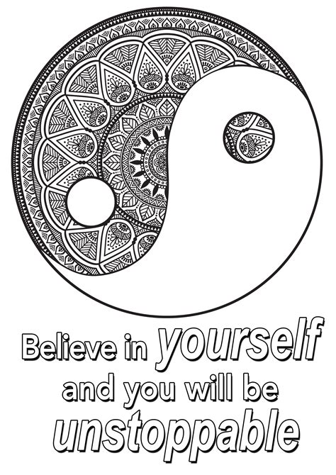 quote    quotes adult coloring pages