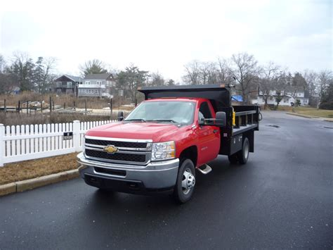 Chevrolet Trucks For Sale by Used 2011 Chevrolet 3500 Hd 4x4 Dump Truck For Sale In In