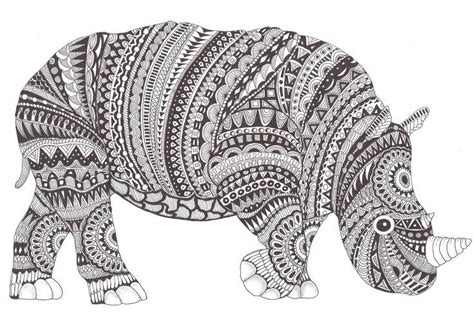 zentangle dieren  pinterest  pins zentagle