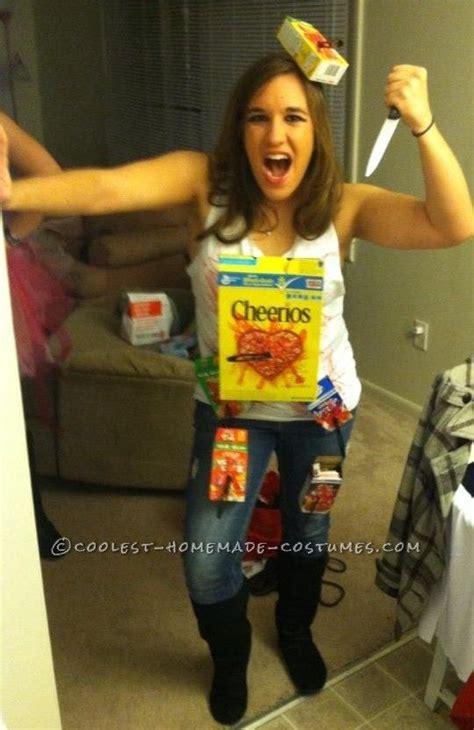 funny  minute homemade costume idea cereal killer