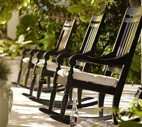 beautify your outdoors salem rocking chair by pottery barn