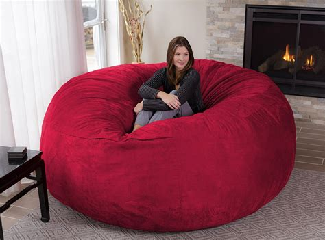 the chill bag is an eight foot bean bag chair technabob