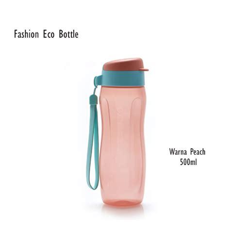 fashion eco bottle ml peach tupperware botol minum