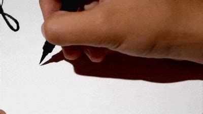 beautiful calligraphy gifs   stop watching