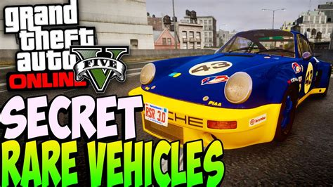 Rare Secret Cars Online 1.24/1.26
