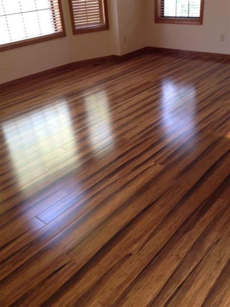 brazilian tiger wood bamboo floors home remodel