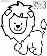 Lion Coloring Pages Colorings Animal Coloringway sketch template