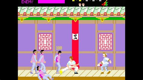 Gamis Spanduk Kutung arcade kung fu master 1984 irem