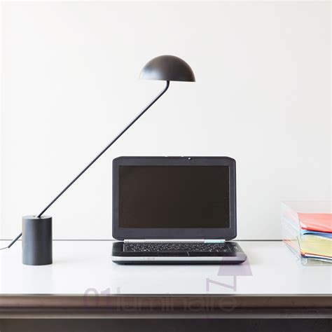 eclairage bureau led le de bureau led bhaus noir 400056349 kos lighting