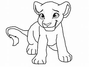 female lion lineart~ by misothekitty on DeviantArt