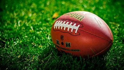 Football Ball American Rugby 4k Uhd Lawn