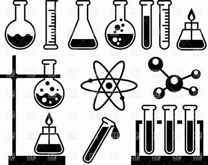 Science Chemistry Equipment Tools Drawing Scientist Pages