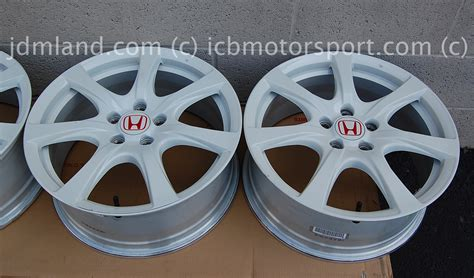 Used Fd2 Civic Type R Champ. White Wheels 18
