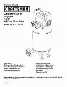 28 Craftsman Air Compressor Parts Diagram