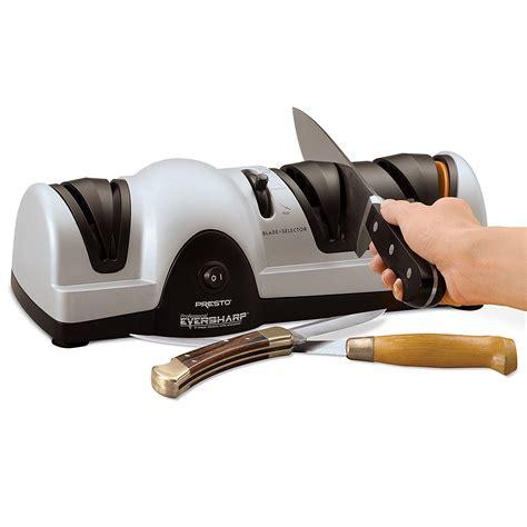 knife sharpener electric professional presto amazon kitchen sharpening knives sharp blade sharpen cutlery way larger description
