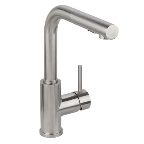 where are miseno faucets manufactured miseno mk064f b brushed stainless pull out kitchen faucet