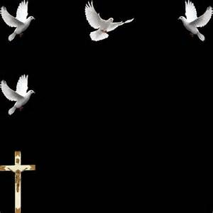 free funeral programs free christmas cross borders doves
