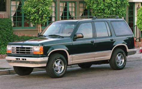 91 Ford Explorer by Curbside Classic 1991 Chevrolet S 10 Blazer Four Door