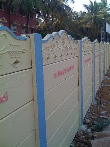 concrete precast compound wall thickness   mm id