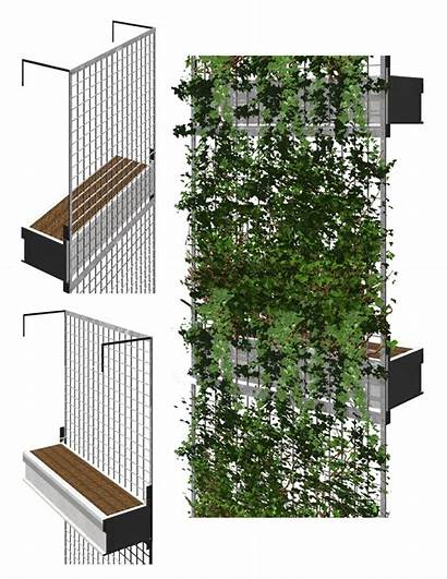 Facade Ecosystems Omni Verde Shading Plant Vertical
