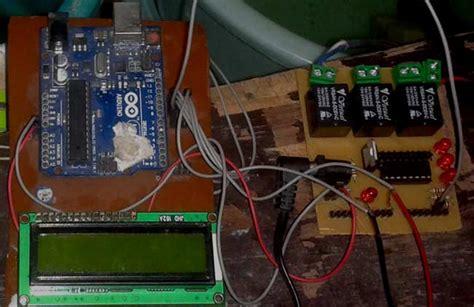 arduino based automatic water level indicator