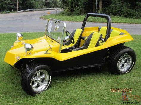 volkswagen buggy yellow vw dune buggy 1963 manx style