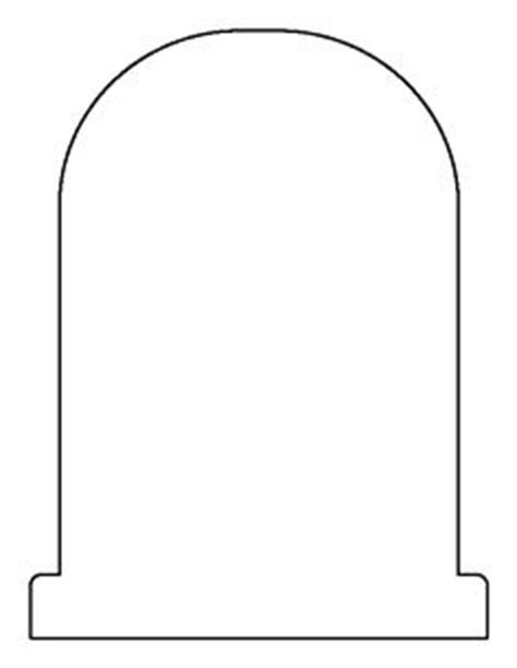 Tombstone Templates For by Key Pattern Use The Printable Outline For Crafts