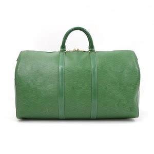 louis vuitton keepall  epi leather duffle travel ln black travel bag  sale