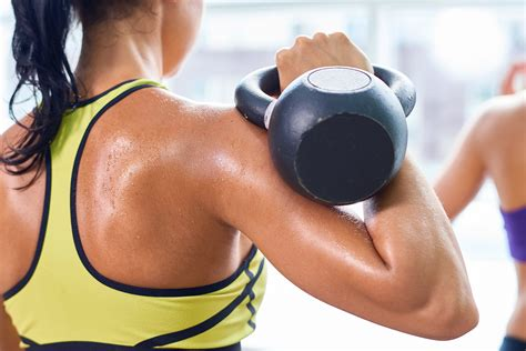 kettlebell workout moves kettle bell fat burning self