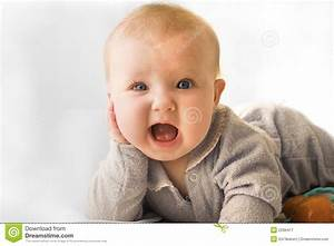 Surprised baby stock image. Image of young, surprised ...