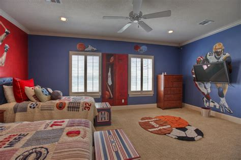 Children's Bedroom Design Inspiration With Sports Themes