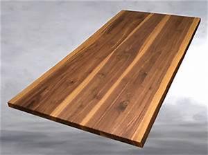 Nussbaum Platte Kaufen : tischplatte nussbaum massiv esstisch baumkante ge lt massivholz 200 100 ebay ~ Markanthonyermac.com Haus und Dekorationen