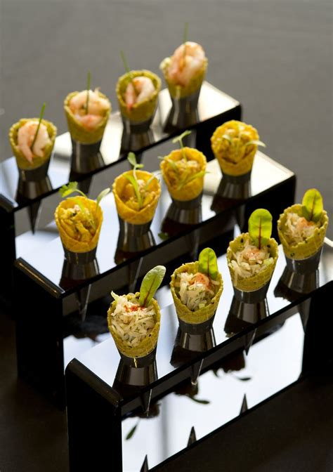 canape food ideas 195 piccadilly canapes coronation chicken cones