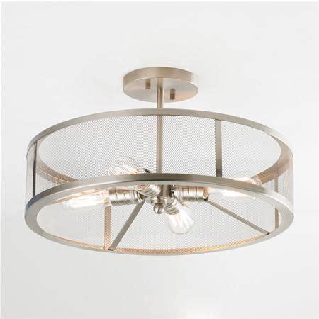 kitchen flush mount lighting mesh industrial semi flush mount ceiling light light