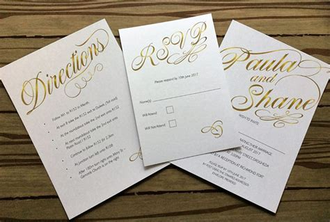 60 stunning wedding invitations for 2018 couples