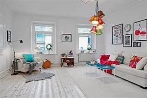 Farben Kombinieren Wohnung : helle wohnung im skandinavischen stil einrichtungsideen aus schweden ~ Orissabook.com Haus und Dekorationen