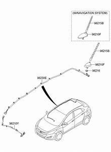 962152j100 - Hyundai Pole