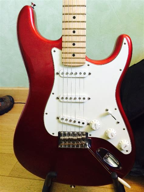 housse guitare electrique fender electric guitar solid fender stratocaster american special for sale