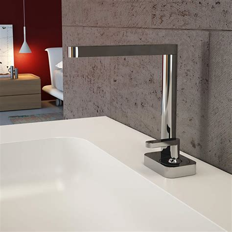 modern italian bathroom sink faucet polished chrome