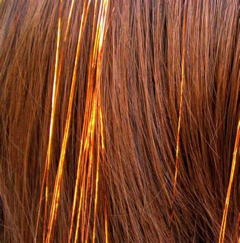 copper hair tinsel with instructions 50 strands of 40