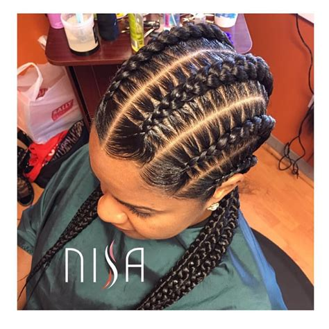 Cornrow With Extensions Hairstyles by Hair Of Day Braids Black Braids Braids