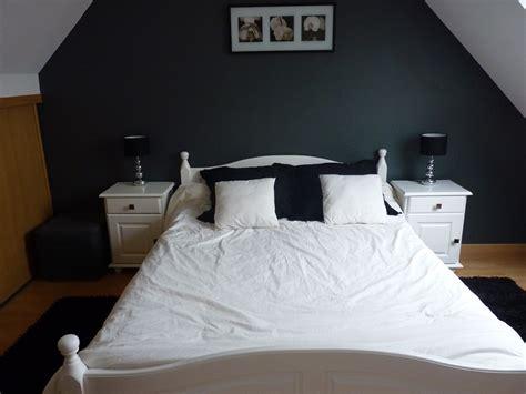 chambre noir gris chambre winnie aubert