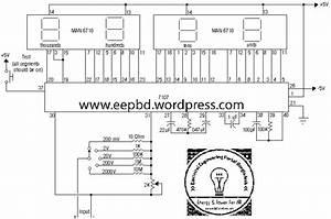 Digital Voltmeter Circuit Using Icl7107