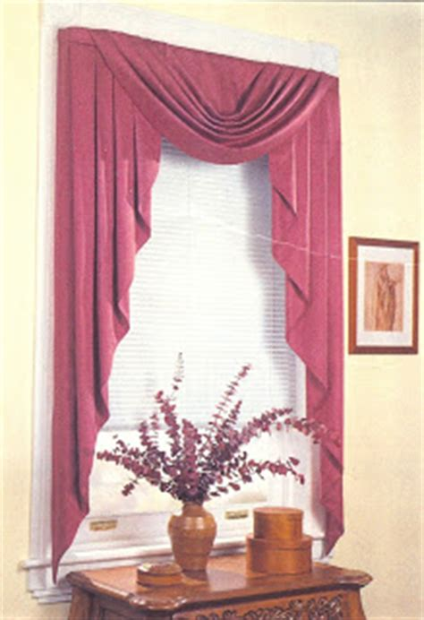 modern bedding valances  swags curtains