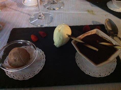 cuisine thionville dessert trilogie de chocolat picture of restaurant de