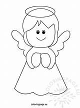 Christmas Angel Coloring Pages Printable Templates Tree Angels Template Crafts Colouring Coloringpage Eu Yahoo Drawing Books Results Sheet Crayon Colors sketch template