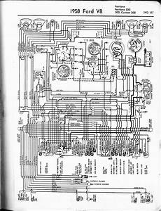 1958 Ford V8 Wiring Diagram  59506