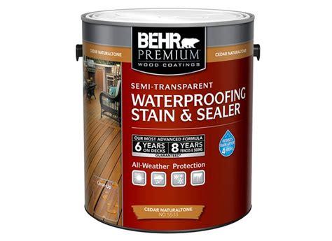 Behr Waterproofing Stain And Sealer