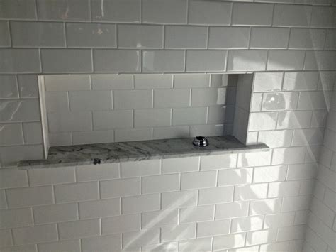 large recessed shower box bathrooms shower