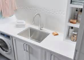 Best Sink Material For Laundry Room by Going Beyond The Kitchen Sink What To Use A Laundry Room